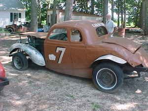 old stock car