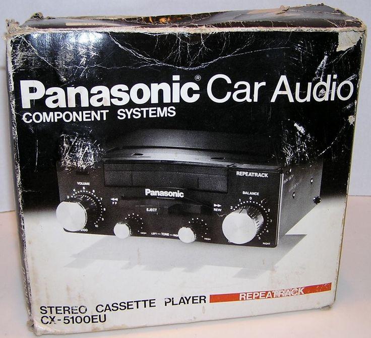 PANASONIC CX-5100EU Car Audio Automobile Stereo Cassette Player Repeatrack #Panasonic