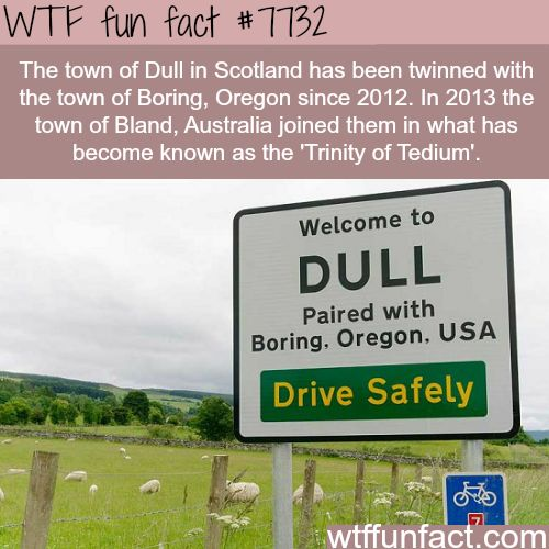 Dull, Scotland - WTF fun facts