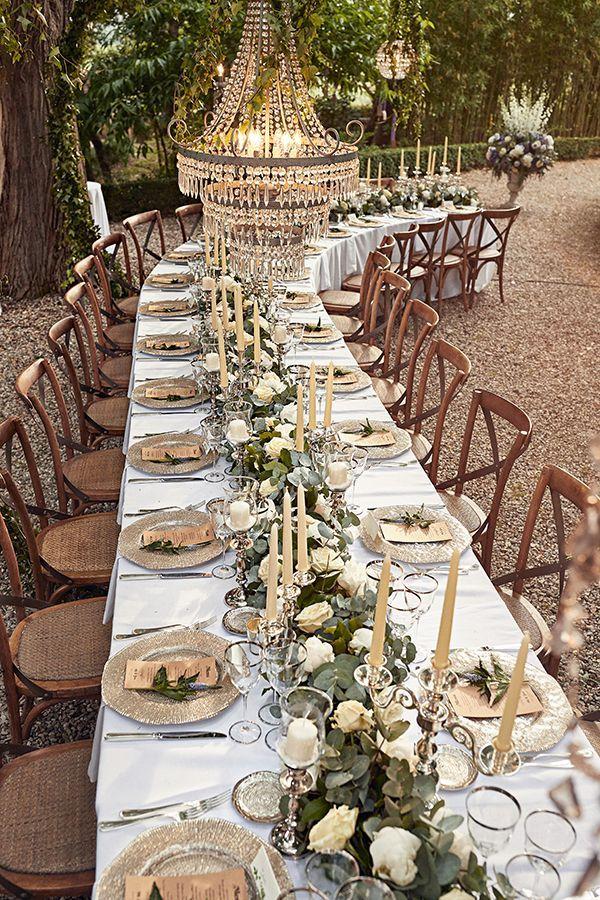 Romantic Italian Outdoor Garden Wedding Strictly Weddings Italian Wedding Themes Rustic Italian Wedding Garden Weddings Ceremony