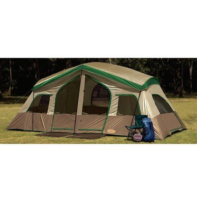 8 Person 3 Room Family Dome Tent Three Room Eight Man C&ing Tent Extra Large Tent  sc 1 st  Pinterest & 49 best Family Camping Tents images on Pinterest | Family camping ...