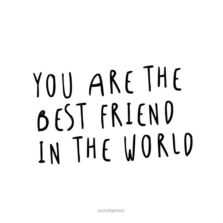 BEST FRIEND by A&O PRINTS Papeterie * Lettering * Home Decor Postkarten, Poster und mehr – DaWanda Online Shop