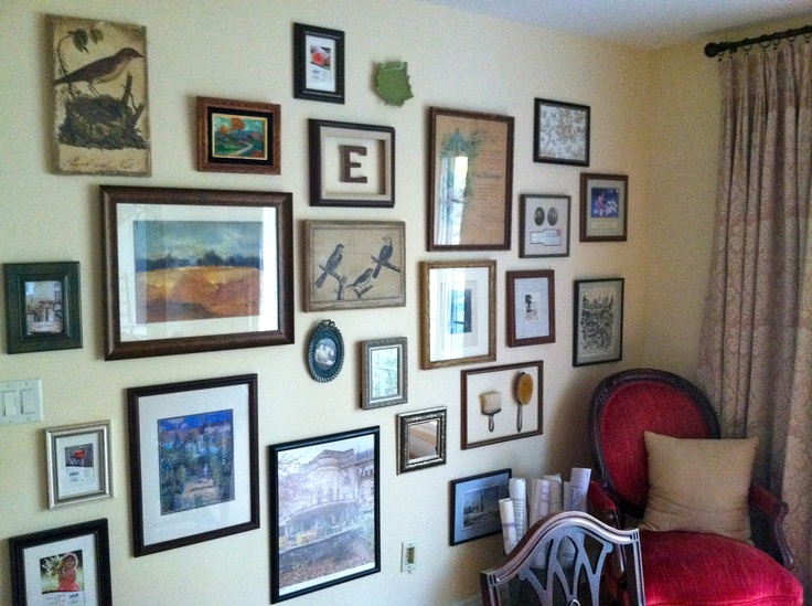 gallery wallDining Room, Gallery Wall