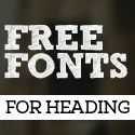 12 New Free Fonts for Designers