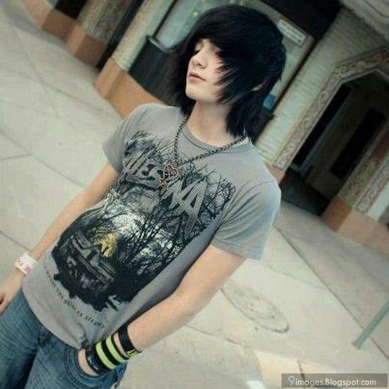 cute emo boys | Cute emo boy hairstyle fashionable