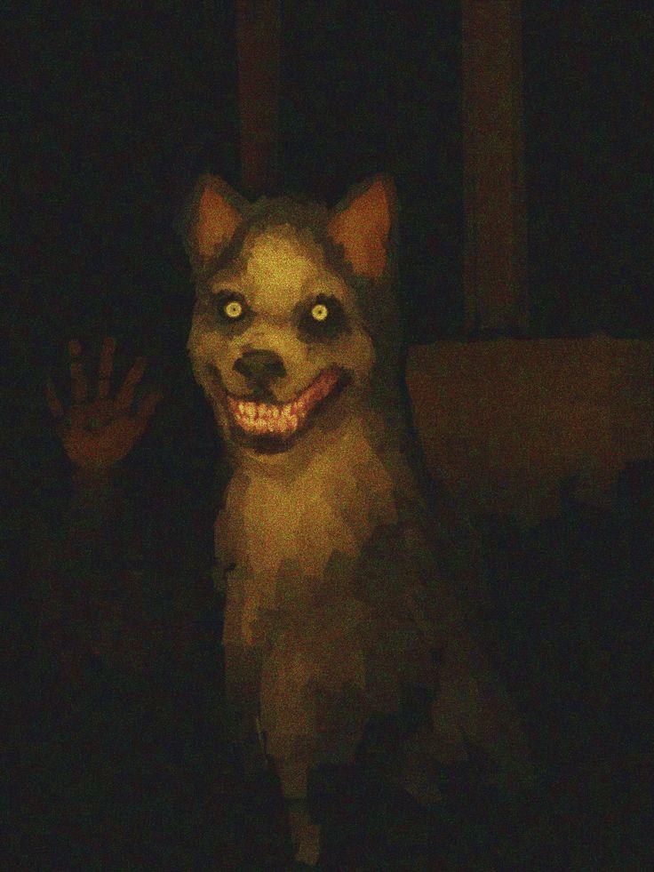Smiledog Jpg Creepypasta Cute Scary Art Creepy Art