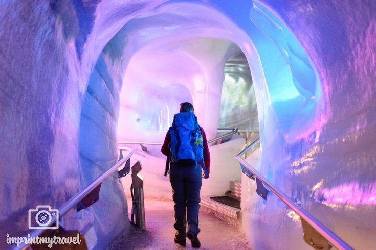 Urlaub in Österreich: Eispalast