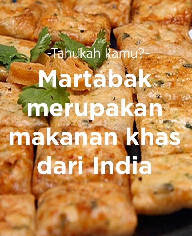 Martabak merupakan makanan khas dari India.   #FoodXploration #BerkahBanget