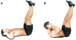 vertical leg crunchesVertical Leg Crunches