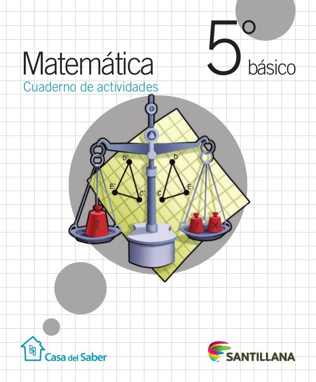 básico °5Matemática Cuaderno de actividades