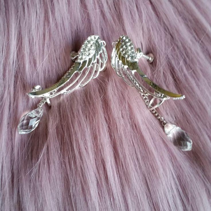 http://www.ikbensieraden.nl/oorbellen-kopen/oor-manchet/oor-manchetten-angel-wing-met-kristal