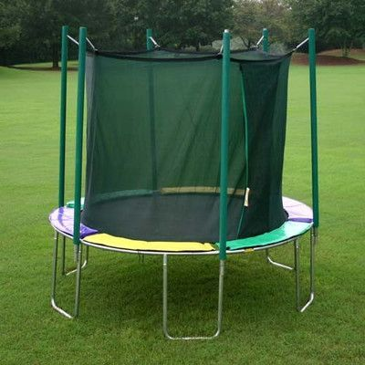 Kidwise 12' Round Magic Circle Trampoline with Enclosure Pad Color: