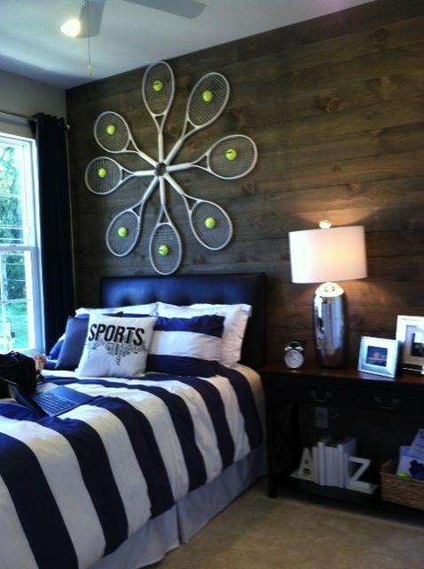 26 best Tennis-themed Interior Design Rooms images on Pinterest ...
