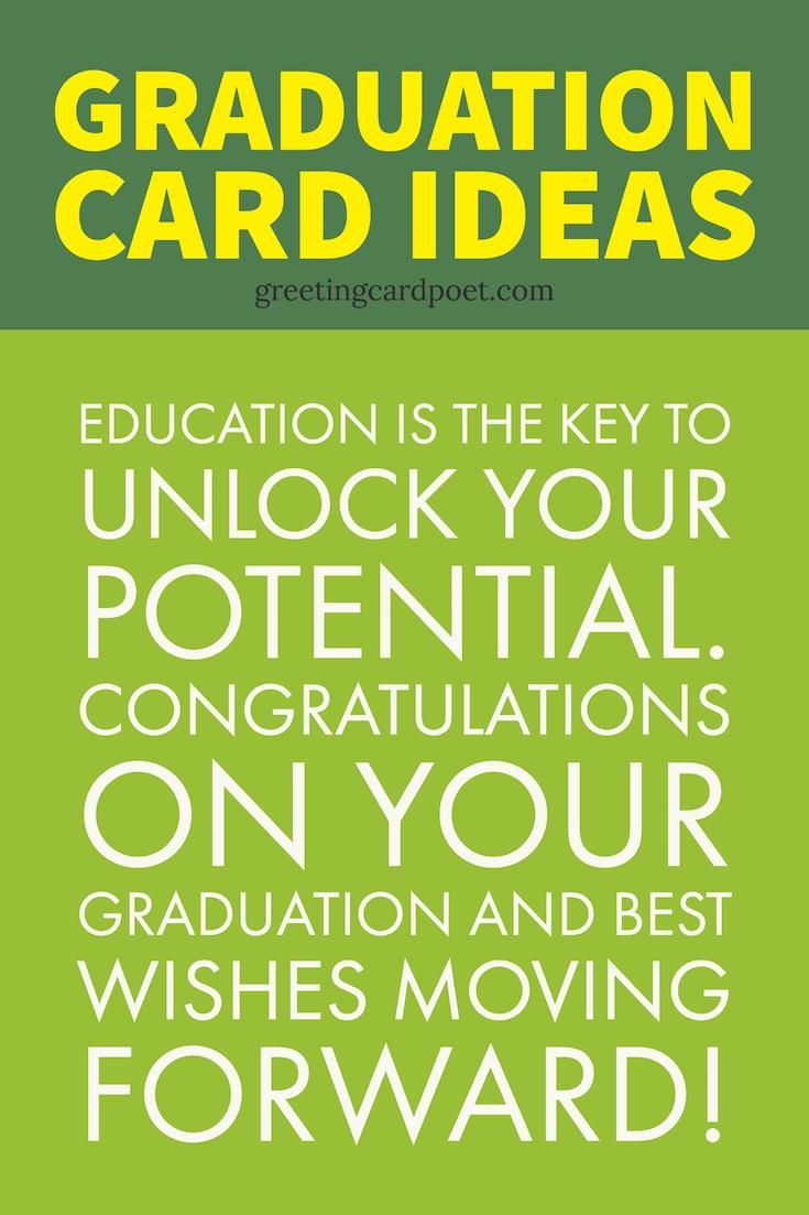 16 best graduation wishes quotes messages memes greetings graduation card ideas for your favorite graduate great graduation messages graduation wishes and graduation kristyandbryce Image collections