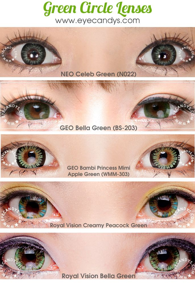 Never really been into contacts, but I have green eyes and I'd be down to try some different type's that look doll like, but still natural