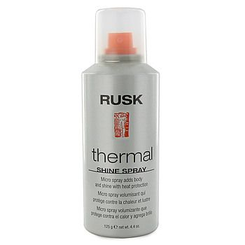 Rusk Thermal Shine Spray.  Best in it's class!