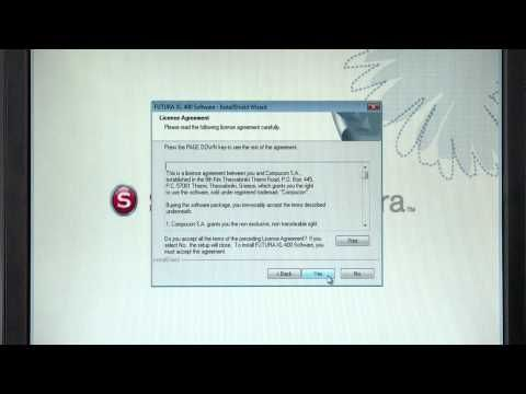 SINGER Futura Quartet, SEQS-6000, XL-400 Software Installation (Windows 7)