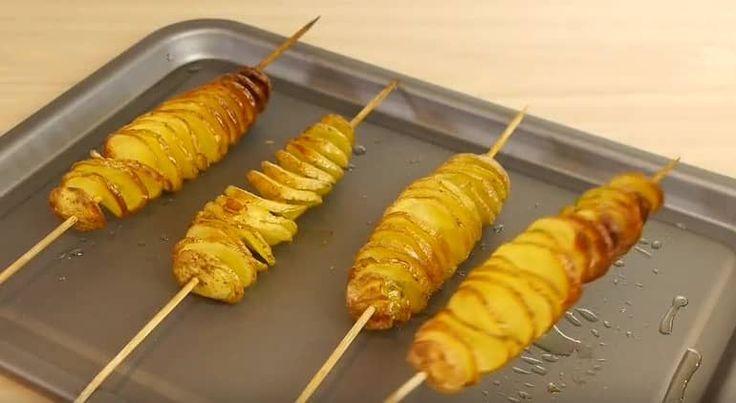 Een aardappel en saté prikker kunnen wonderen verrichten! Zo simpel!