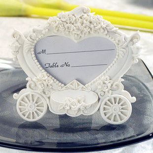 gift wrapping paper design directly from china gift jack suppliers cinderella pumpkin carriage place card holder photo frame wedding favors and gifts