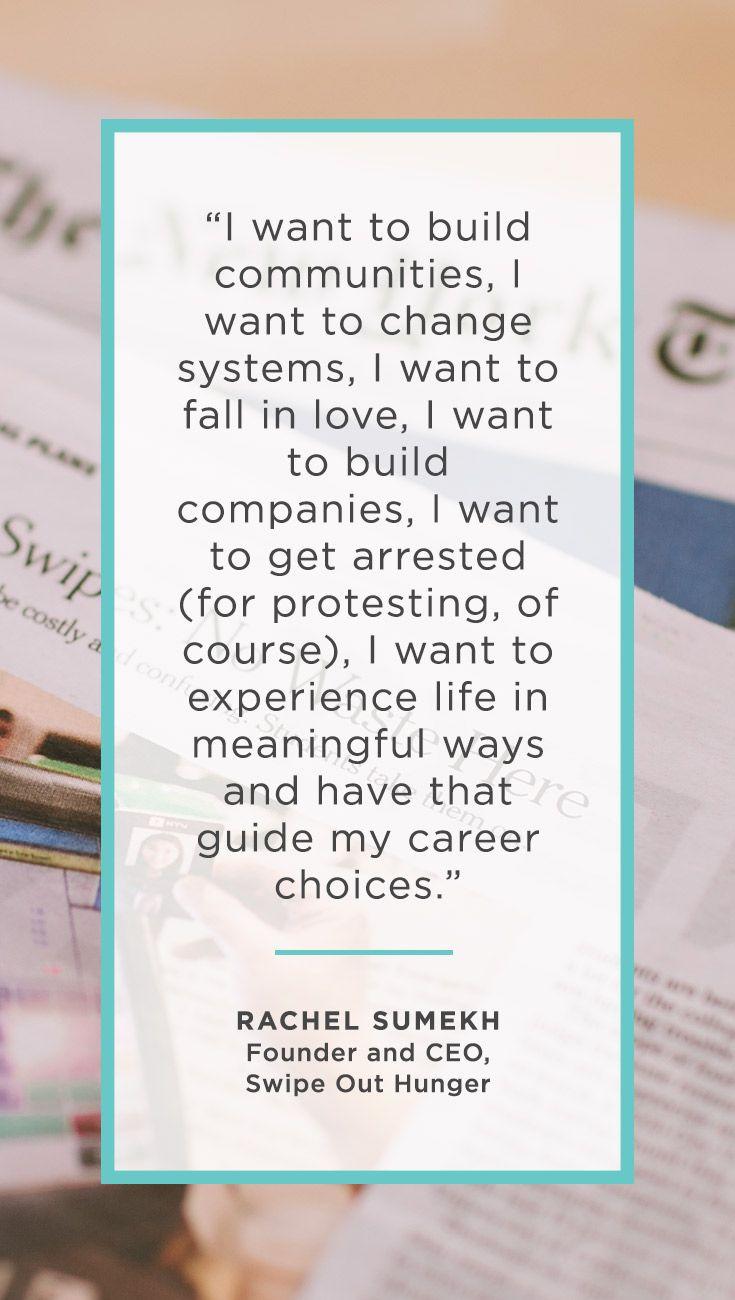1000 idei despre career inspiration pe sfaturi pentru meet rachel sumekh 24 year old non profit entrepreneur and seriously badass