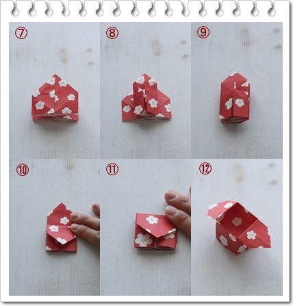 ★100円可愛い折り紙で節分準備♪