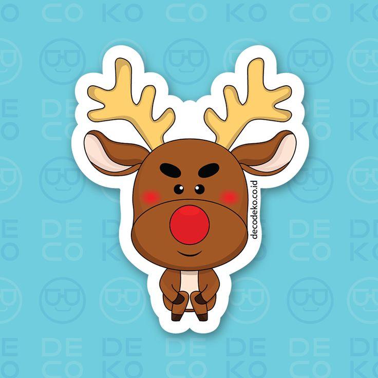 Sticker Rudolph