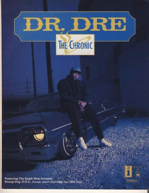 Advertisement for Dr. Dre's 'The Chronic'