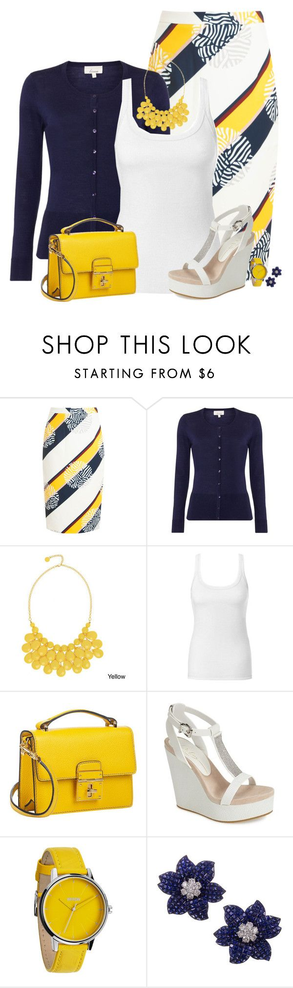 """""""Suddenly Life Has New Meaning to Me"""" by loocreve ❤ liked on Polyvore featuring Raoul, Alexa Starr, Intimissimi, Dolce&Gabbana, Lola Cruz and Nixon"""
