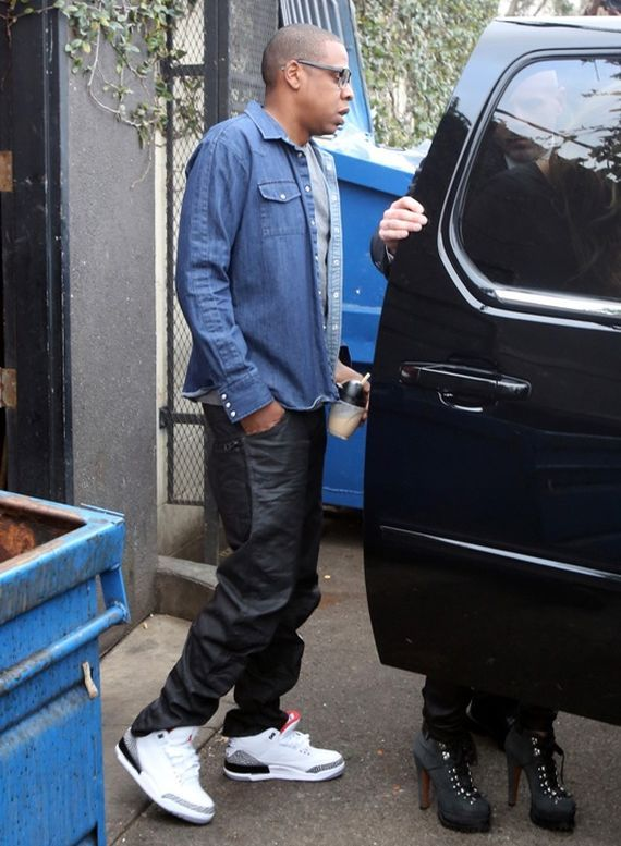 official photos b9700 4e65a 71f9c 48ad3  new arrivals jay z wearing air jordan iii 88 celeb kicks  outfits of the 0617a 16adc