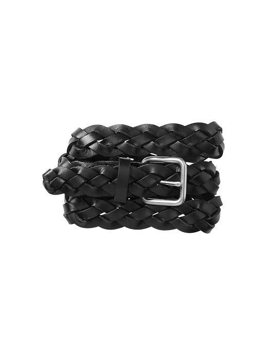 Basic braided belt
