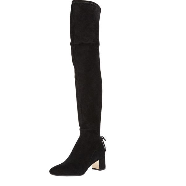 44b10e7948d0 Tory Burch Laila 45Mm Over-the-Knee Boots (€355) ❤ liked on ...