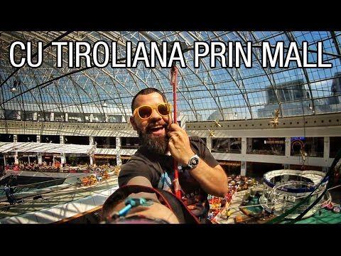 M-am dat cu tiroliana prin mall! www,cotroceni.ro #CartierulCotroceni #Cotroceni #ghid #urban #AfiCotroceni