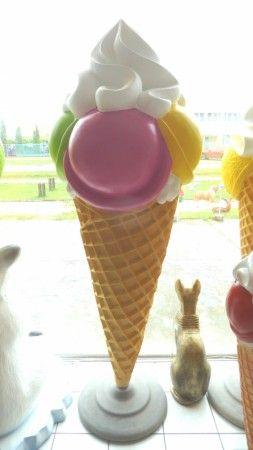 Fagyi-Gombócos fagylalt habbal-215 cm