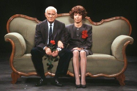 """""""Bitte sagen Sie jetzt nichts, Hildegard!"""" ... Loriot (1923-2011) & Evelyn Hamann (1942-2007) ... Nach wie vor ein geniales Gespann! Loriots Humor ist zeitlos."""