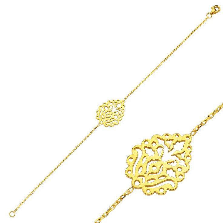 Altınbaş Efsane - 22 Ayar Altın Bileklik  #22ayar #altın #tasarım #efsane #motif #tarihi #osmanlı #takıları