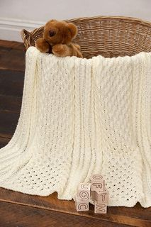 Irish Knit Baby Blanket Pattern : Irish Eyes Baby Blanket - Free pattern! Knitting Pinterest