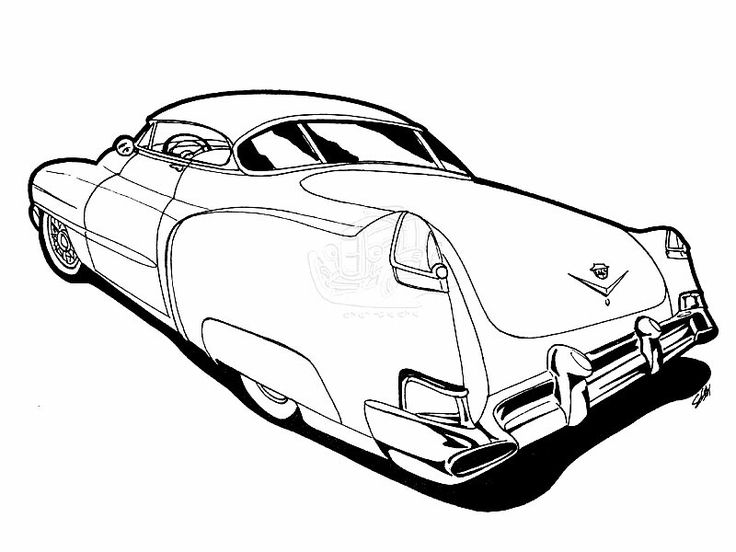 62 best Coloring Hot Rod images on Pinterest Coloring books - best of coloring pages antique cars