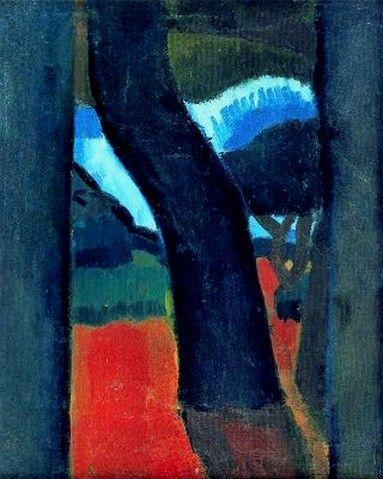 Les arbres (1908) Huile sur toile (35 x 29), ANDRE DERAIN
