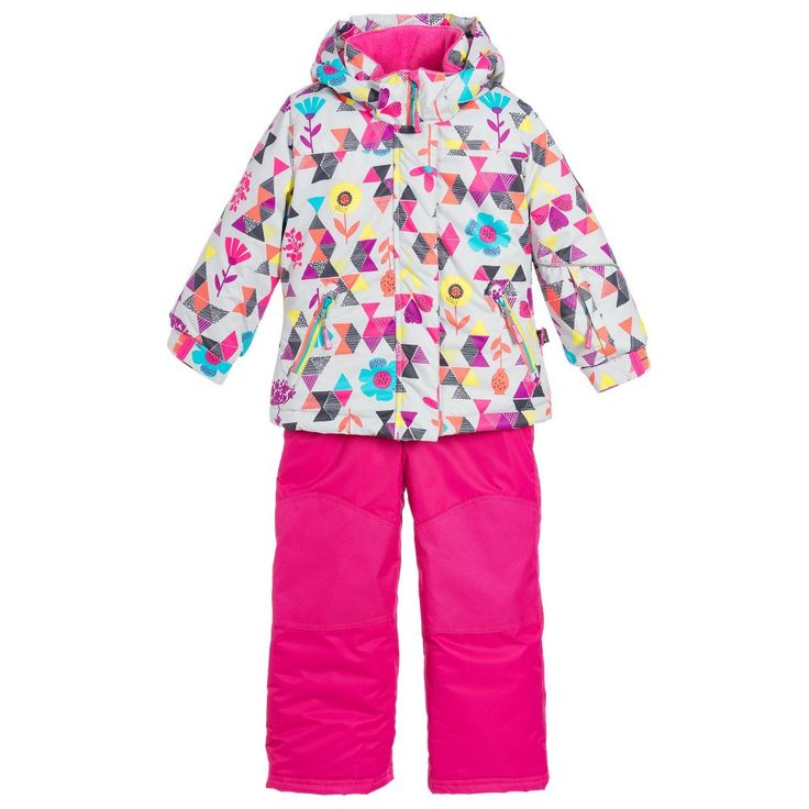 Deux Par Deux - Girls Snow Jacket & Salopettes | Childrensalon
