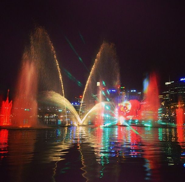 Darling Harbour, Sydney Australia   - Explore the World with Travel Nerd Nici, one Country at a Time. http://TravelNerdNici.com