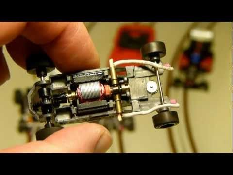 Make your own HO routed copper tape slot car track - YouTube