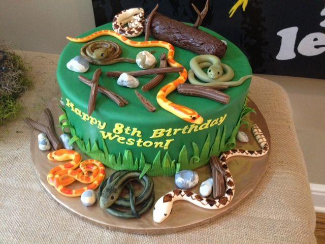 219 best snake cakes images on pinterest birthdays
