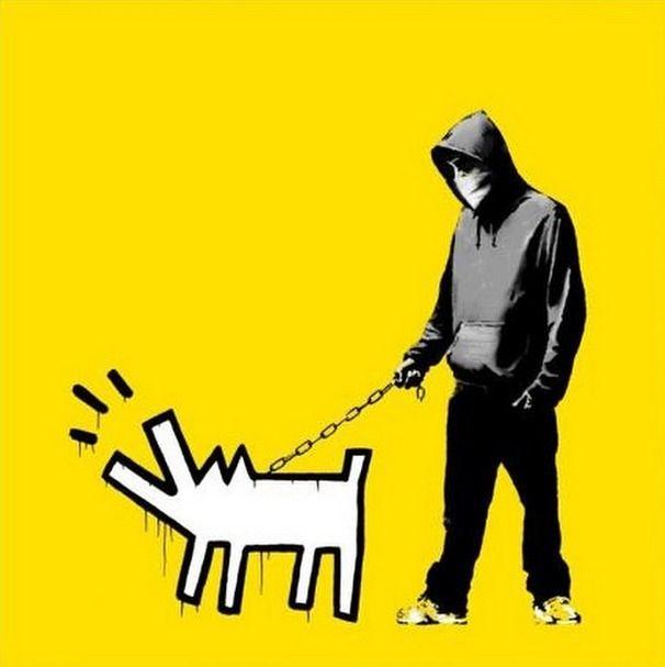 Banksy, 'Choose Your Weapon ,' 2010, Guy Hepner