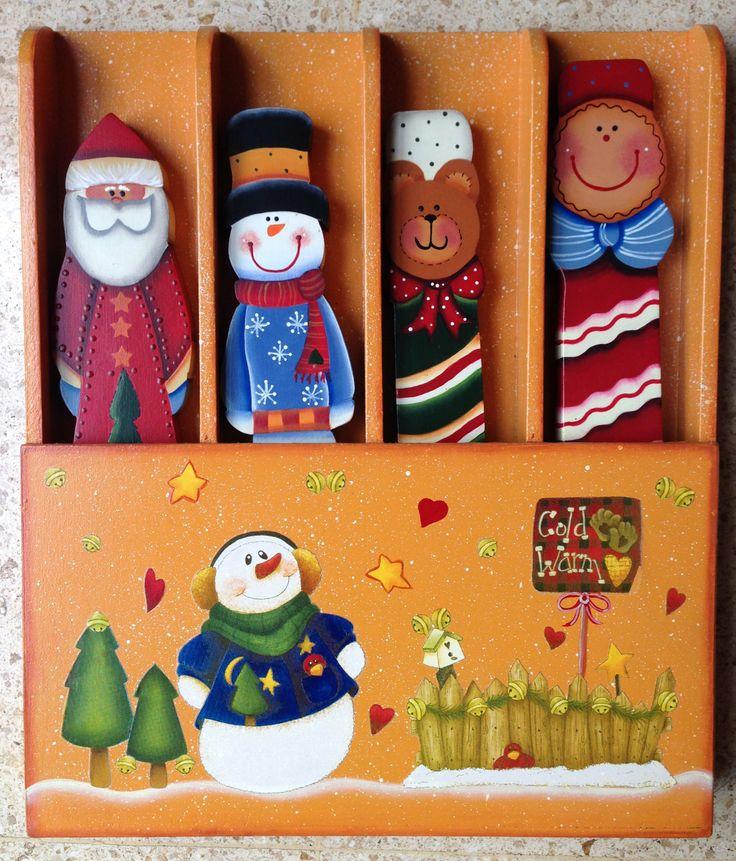 Servidoras Navidad en caja