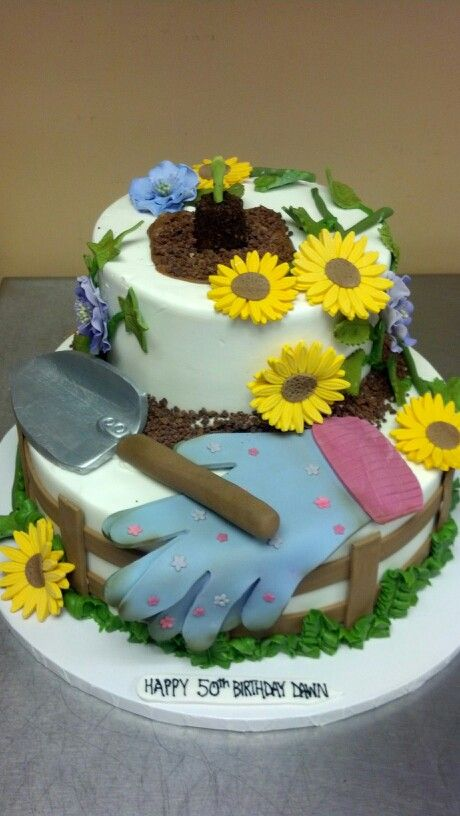 images of cakes with garden theme - photo #4