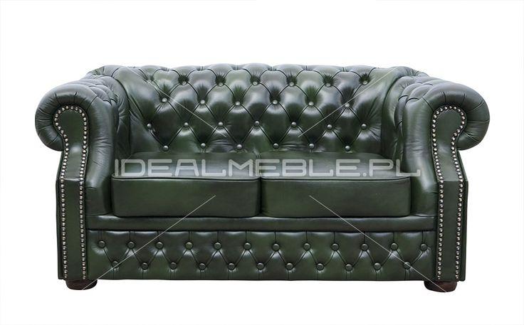 Zielona skórzana sofa Chesterfield, windsor, skórzana sofa chesterfield, green chesterfield, skóra naturalna, stylowa sofa, semianilina, madras, dubai, sofa w stylu angielskim, pikowana   1909e45_sofa_windsor_classic.jpg (900×560)
