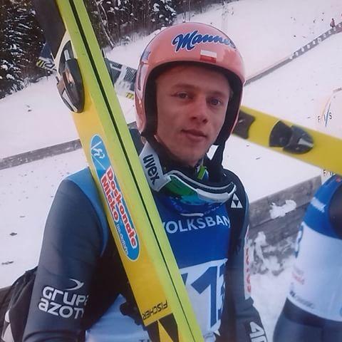 Dawid Kubacki, WC Titisee-Neustadt 2014. ©ME  #skijumping #skijumper #skispringen #skispringer #dawidkubacki #teampoland #polska #polen #titiseeneustadt #coldmemories #fun
