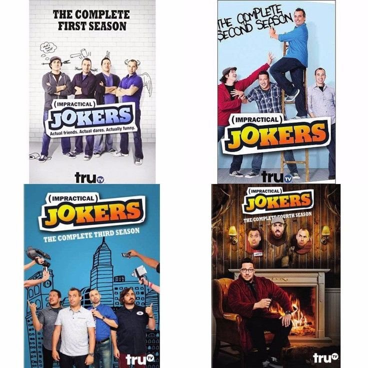 Impractical Jokers Seasons 1-4 (DVD)
