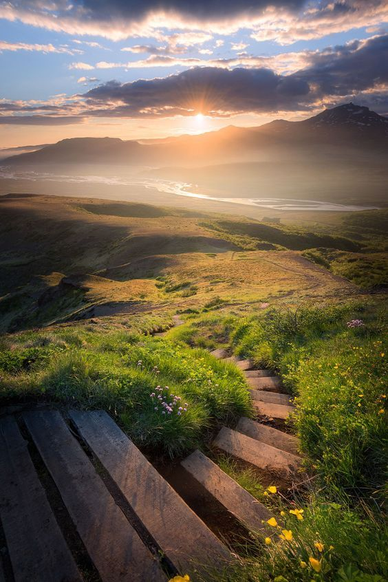Thórsmörk #Iceland Stairway to heaven | #HD #Nature #Wallpapers