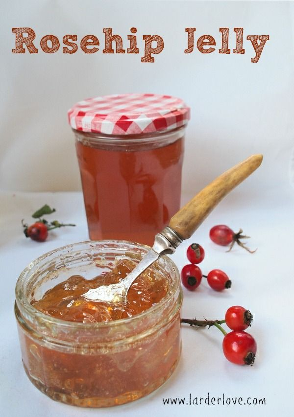 capture the taste of fall with this wonderful Rosehip Jelly, perfect on toast or with savouries too. www.larderlove.com